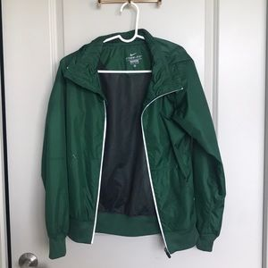 Green Nike Storm Fit Windbreaker Jacket